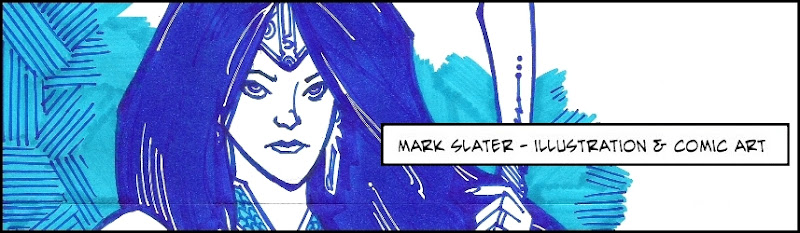 Mark Slater - Illustration and Comic Art