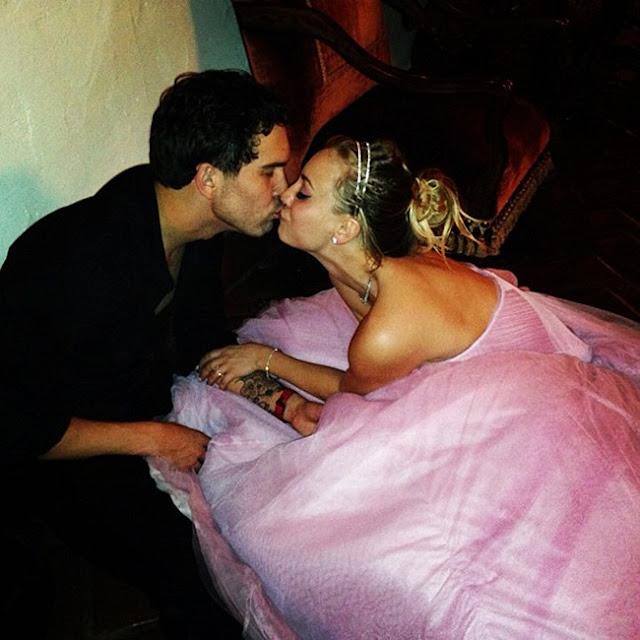 Kaley Cuoco & Ryan Sweeting Split