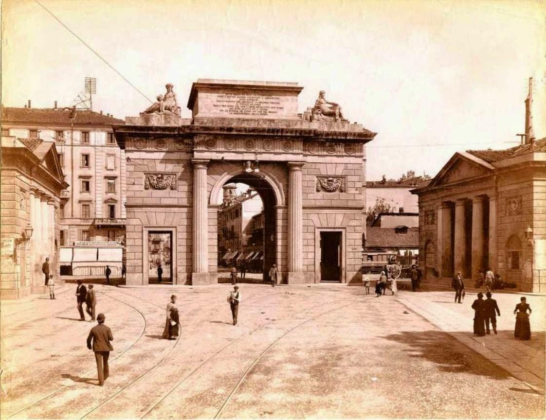 Milanoneisecoli l 39 annessione dei corpi santi e la nascita - Pavia porta garibaldi ...