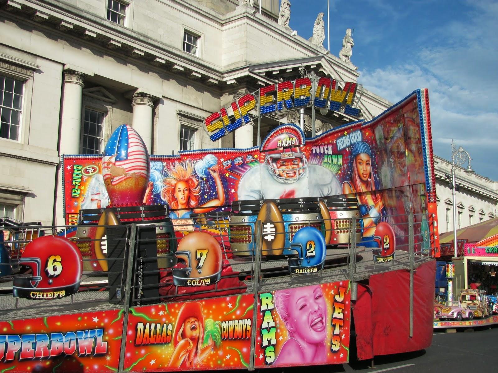 Football-themed ride in Dublin