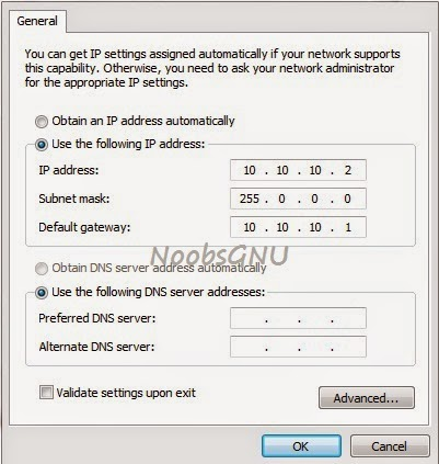 Konfigurasi IP Adress Mikrotik