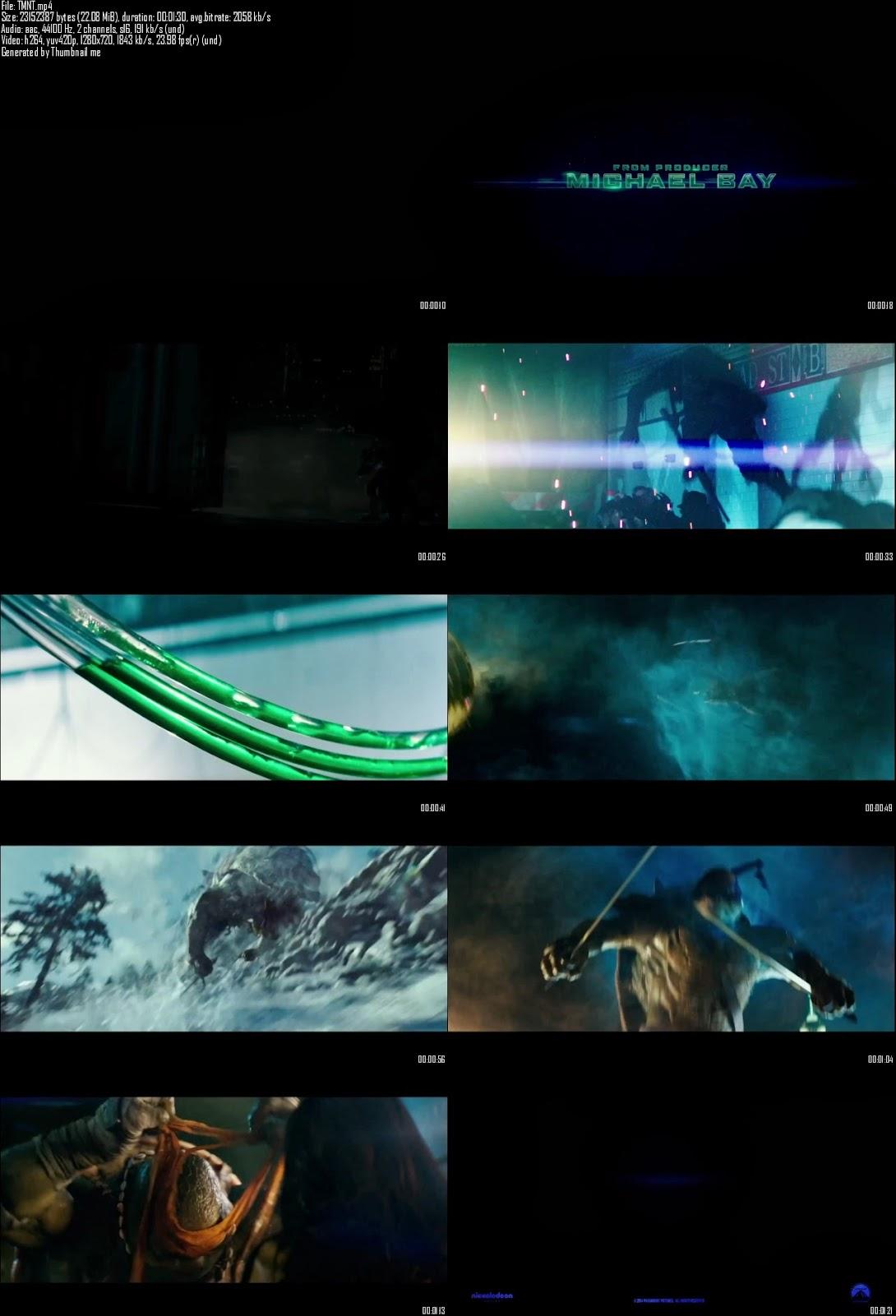 Single Resumable Download Link For Teenage Mutant Ninja Turtles (2014) First Look Promo HD