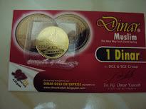 1 Dinar Muslim 4.25g