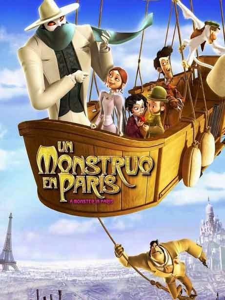 Un Monstruo en Paris (2012)