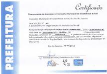 Certificação no CMAS