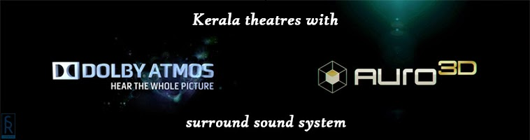 Dolby Atmos & Auro 3D 11.1 Theatres in Kerala