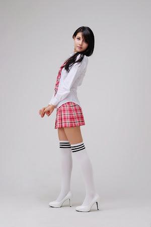 Cha Sun Hwa, Cute School Girl 07