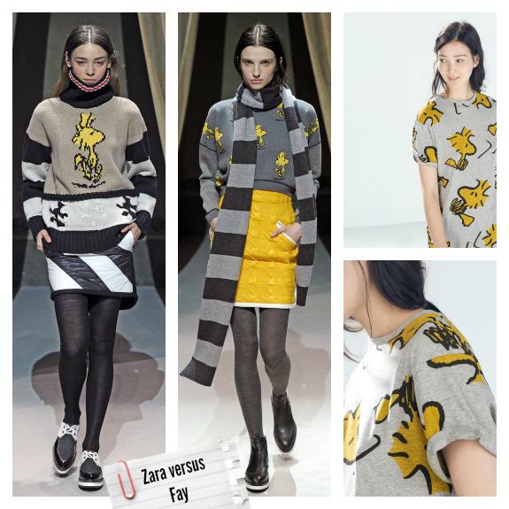 Clones moda otoño 2014 zara fay