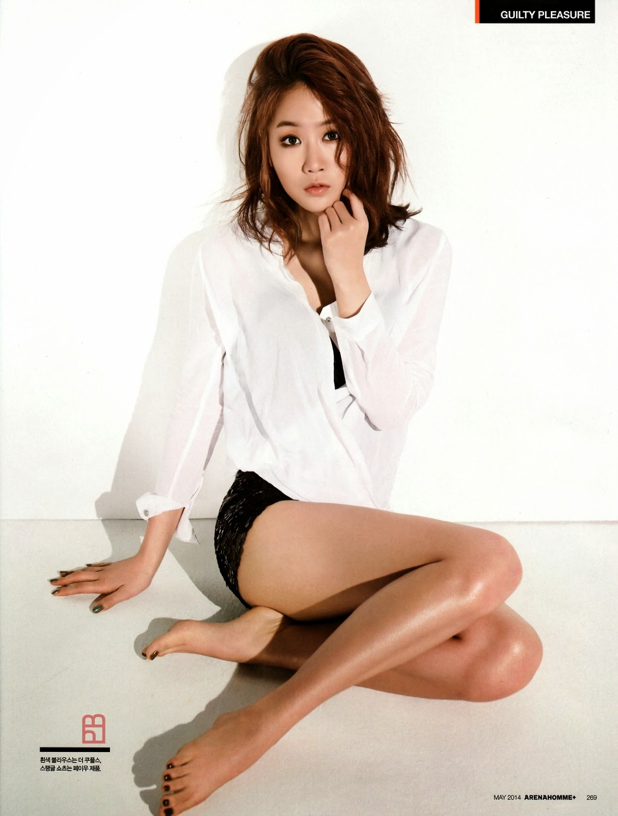 Soyu - Arena Homme Plus Magazine May Issue 2014