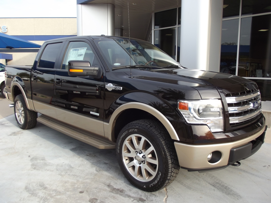 in stock 2013 ford f150 king ranch supercrew 4x4 3 5l ecoboost tdy sales new lifted truck suv. Black Bedroom Furniture Sets. Home Design Ideas
