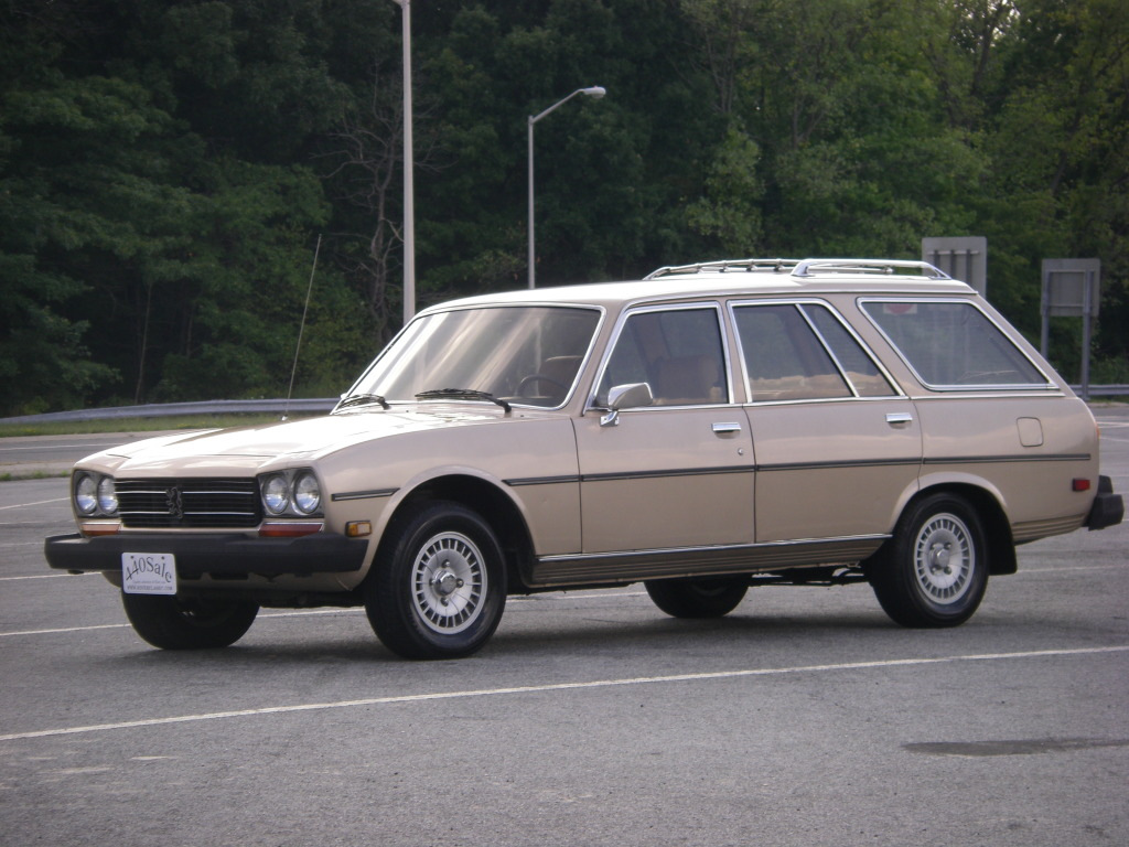 Just A Car Geek: 1981 Peugeot 504 Diesel Wagon