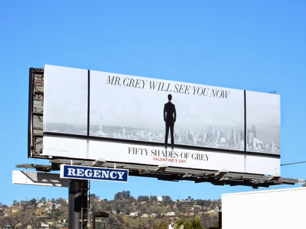 Mr Grey will see you now billboard