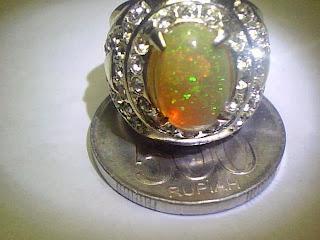 Batu Cincin Kalimaya Teh Banten