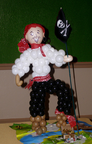 Pirates Balloon Character