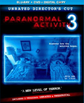 Paranormal Activity 3 (2011) BluRay poster