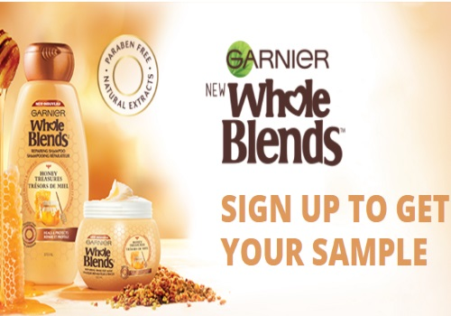 Garnier Free Sample Whole Blends