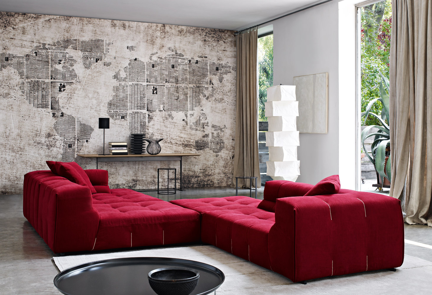 Tufty too sofa by b b italia designer furniture fitted for B b couch