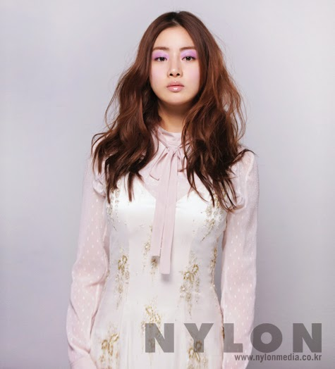 Kang Sora - Nylon Magazine March Issue 2014
