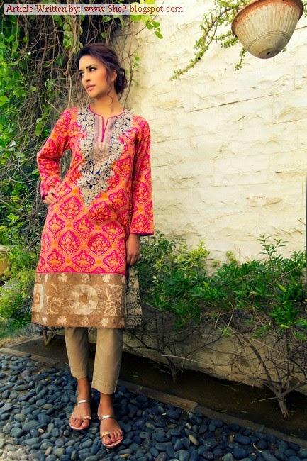 Sana safinaz Ready To Wear Eid 2014