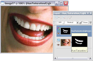 Photo pos pro hue/saturation/brightness screen shot