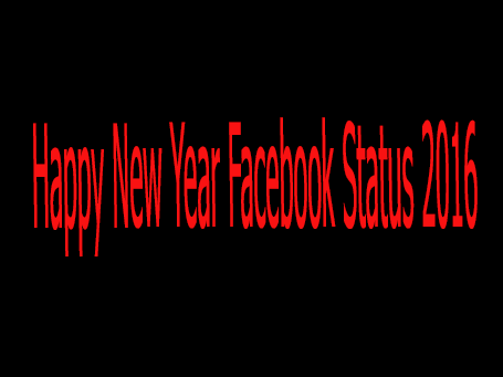 Happy New Year Facebook Status