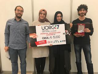 KTÜN Takımına, ODTÜ Robot Günleri'nde Birincilik Ödülü