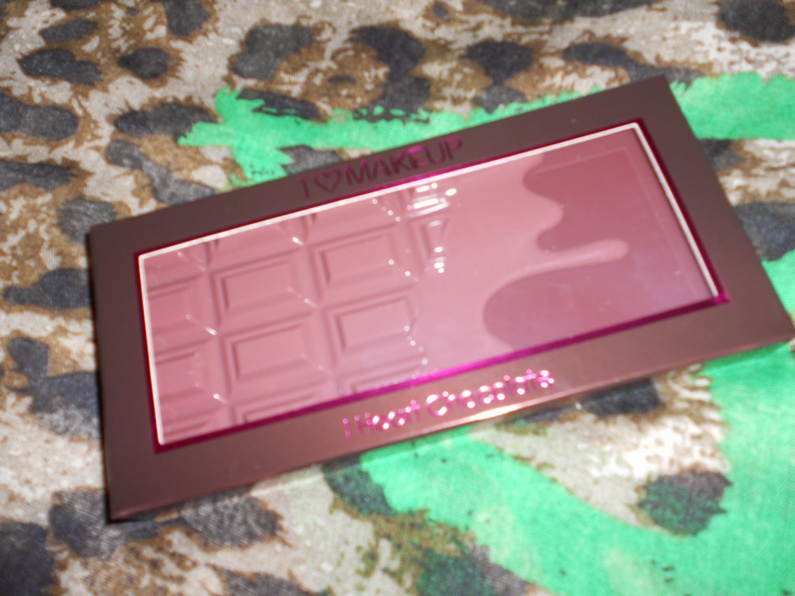 Paleta Wonder - I Heart Chocolate de I Heart Makeup