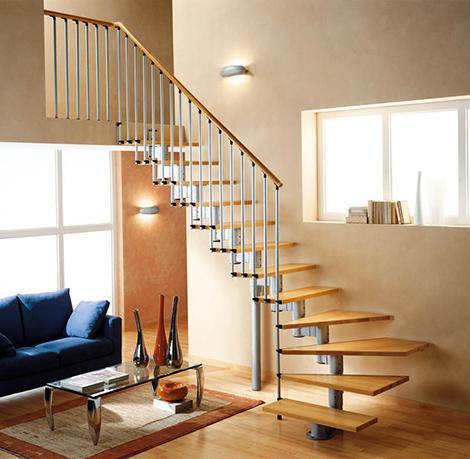 el concepto loft de decoracin ha puesto de modas las escaleras gracias a las escaleras puedes aprovechar el espacio vertical por ejemplo con un
