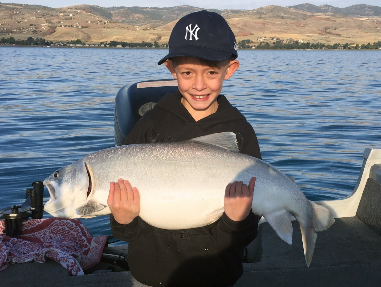 Devin's 20 lb Bear Lake Mack