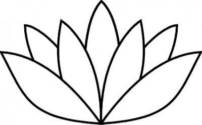 flower lotus template