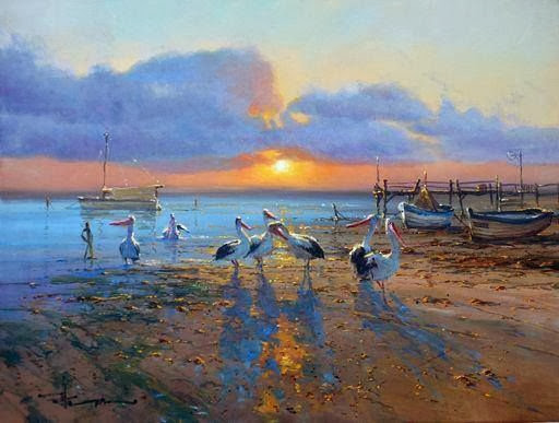 Robert Hagan, Oil Painting, Painting, painter,