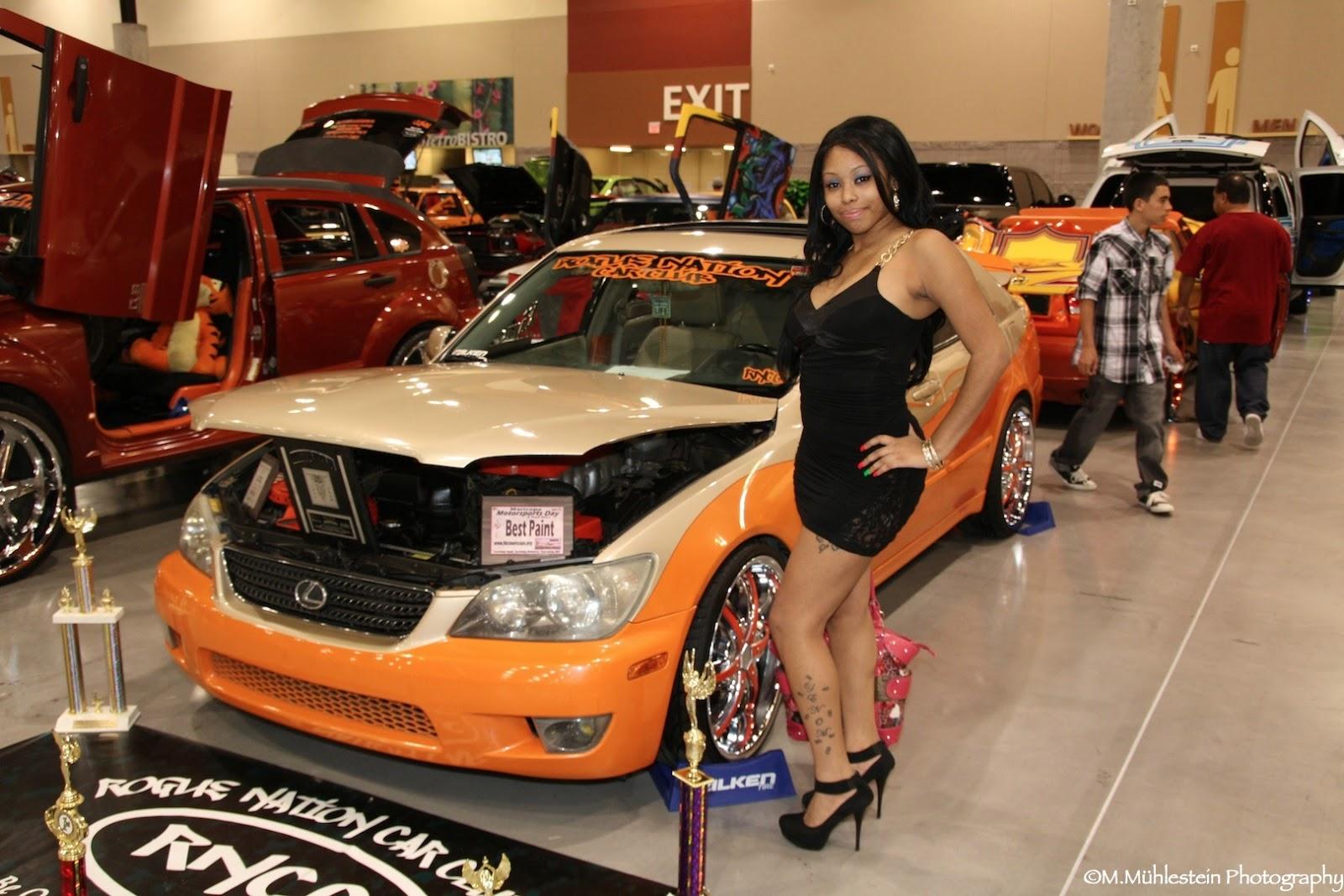 CARNBABES Dub Show Tour Phoenix Rogue Nation Car Club Babe - Car show phoenix convention center