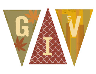 Influential image throughout give thanks banner printable