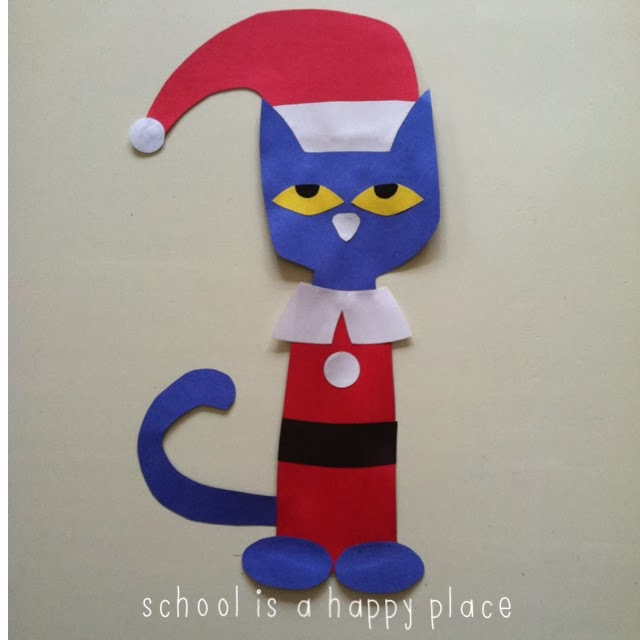 School Is A Happy Place Pete The Cat Saves Christmas Literacy And