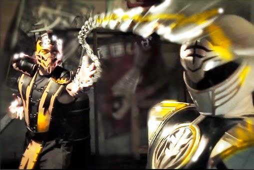 Ranger Branco vs Scorpion, luta épica!