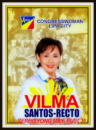 Elect Vilma Santos-Recto for Congress