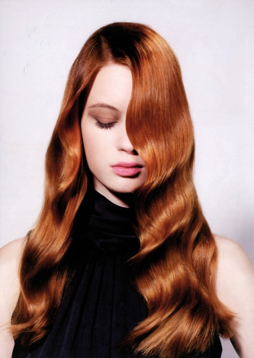 Hot Celebrity Hairstyle Ginger Hair