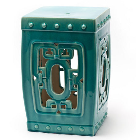 A traditional Chinese openwork design enlivens this handcrafted ceramic Turquoise Openwork Square Garden Stool useful as an end table or a garden seat ...  sc 1 st  Everything Turquoise & Turquoise Openwork Square Garden Stool | Everything Turquoise islam-shia.org