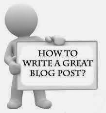 Writing a Good Blog