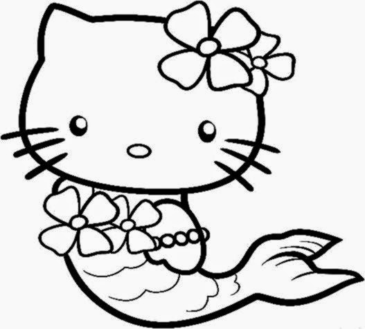 hello kitty valentines coloring pages - photo#25