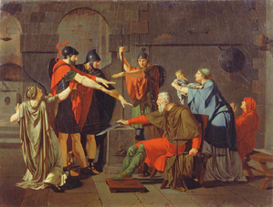 The Oath of the Horatii   Armand-Charles Caraffe  1791Oath Of The Horatii