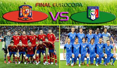 Final Eurocopa 2012 España - Italia