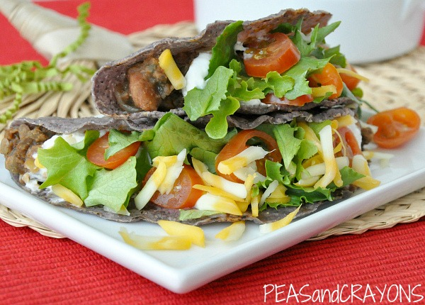 Lentil Veggie Tacos - Healthy and Delicious!