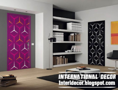 Modern Interior Doors Designs With Bright Colors 2013