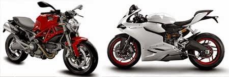 Motor Ducati Baru