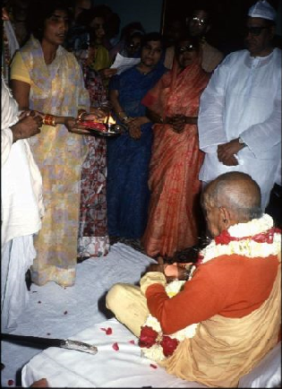 Srila Prabhupad in Aligarh on 9th October, 1976