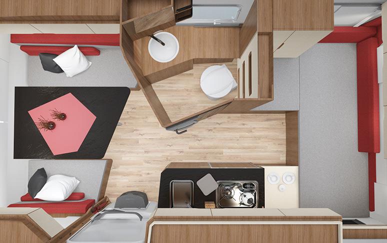 Kleine Wohnwagen: Der Knaus TRAVELINO - Caravan einer neuen Generation