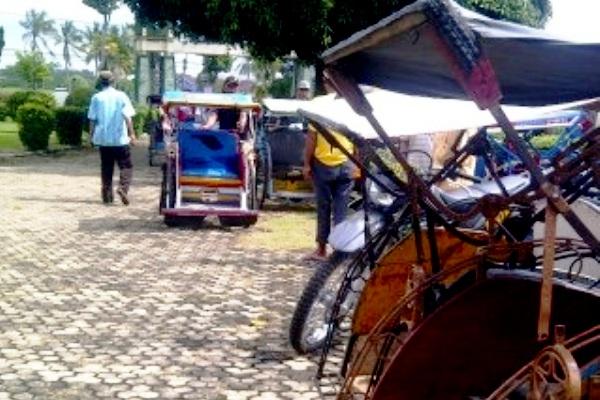 Becak Kotabumi Lampung Utara