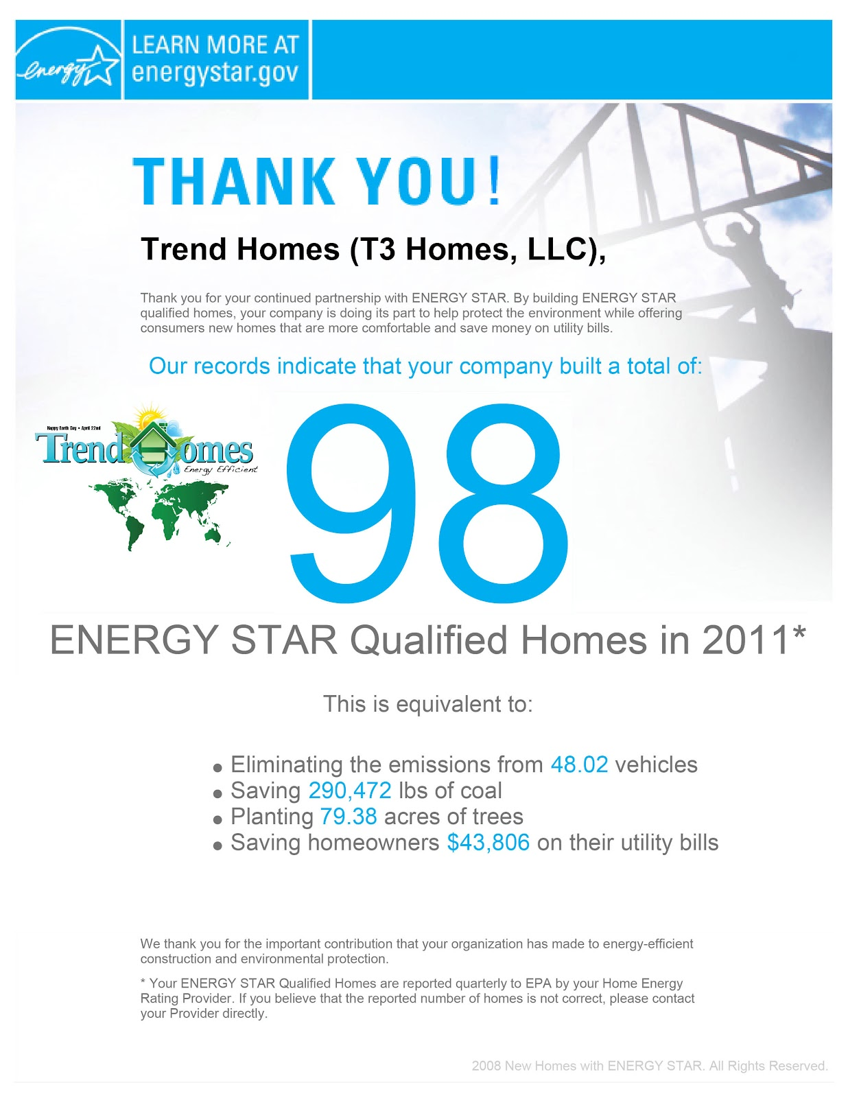 Trend homes may 2012 for 5 star energy