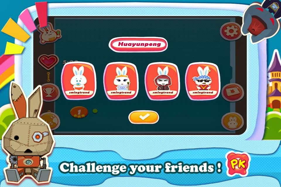 challenge your friends